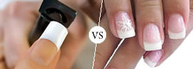 Nail tips vs Acrylic nails