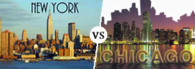 New York vs Chicago