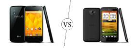 Nexus 4 vs HTC One X