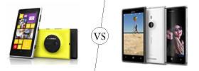 Nokia Lumia 1020 vs Nokia Lumia 925
