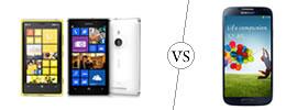 Nokia Lumia 925 vs Samsung Galaxy S4