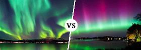Northern Lights vs Aurora Borealis