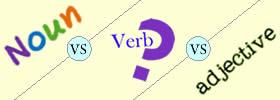 Noun vs Verb vs Adjective