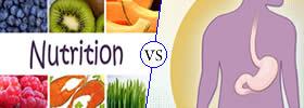 Nutrition vs Digestion