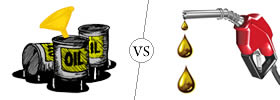 Oil vs Fuel