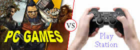 PC games vs PlayStation