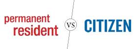 Permanent Resident vs Citizen