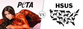 PETA vs HSUS