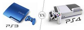 PlayStation 3 vs PlayStation 4