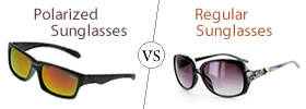 Polarized vs Regular Sunglasse