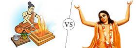 Puja vs Bhakti