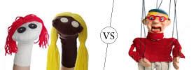 Puppet vs Marionette