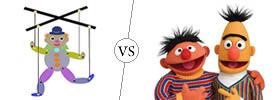 Puppet vs Muppet