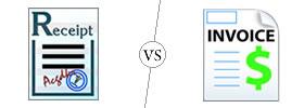 Receipt vs Invoice