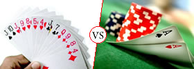 Rummy vs Poker Game