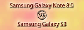 Samsung Galaxy Note 8.0 vs Samsung Galaxy S3