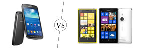 Samsung Galaxy S4 Active vs Nokia Lumia 925