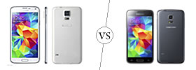 Samsung Galaxy S5 vs S5 Mini