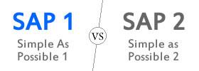SAP 1 vs SAP 2