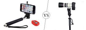 Selfie Stick vs Monopod