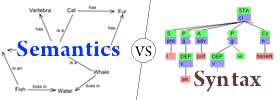 Semantics vs Syntax