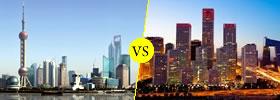 Shanghai vs Beijing