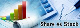 Share vs Stock