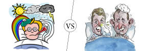 Sick vs Ill