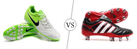 Soccer vs Rugby Cleats