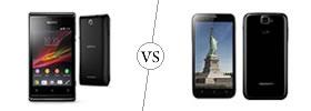 Sony Xperia E vs Karbonn Titanium S5
