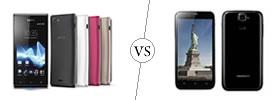 Sony Xperia J vs Karbonn Titanium S5