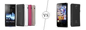 Sony Xperia J vs Sony Xperia T