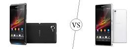 Sony Xperia L vs Xperia Z