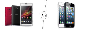 Sony Xperia SP vs iPhone 5