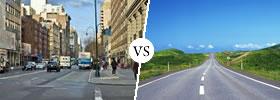 Streets vs Roads
