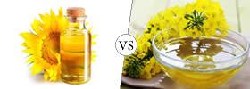 Sunflower Oil vs Canola Oil
