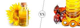 Sunflower Oil vs Palm Oil