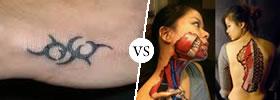 Tattoo vs Body Art