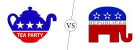 Tea Party vs Republican