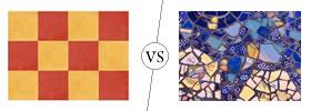 Tiles vs Mosaic Tiles