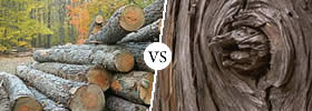 Timber vs Wood