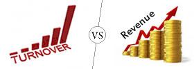 Turnover vs Revenue