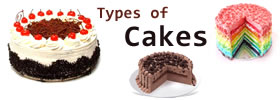 Different Types of Cakes