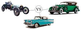 Veteran vs Vintage vs Classic Cars