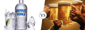 Vodka vs Beer