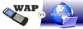 WAP vs the Internet