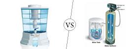 Water Purifier vs Water Softener