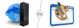Web Hosting vs Web Designing