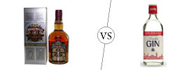 Whiskey vs Gin