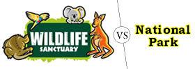 Wildlife Sanctuary vs National Park